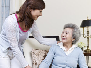 Senior Care Lee's Summit MO - Five Tips for Talking with a Senior Who Has Dementia