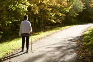 In-Home Care Lenexa KS - What Does Your Senior Need to Know about Walking Safely?